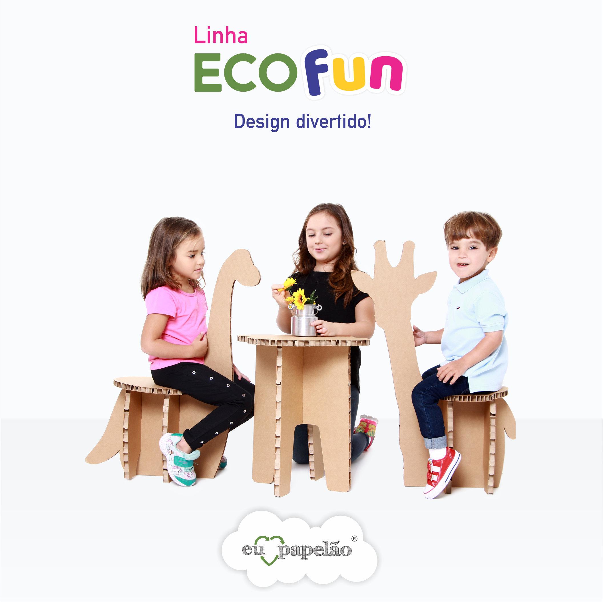Linha ECOFUN: Design divertido